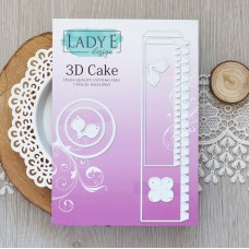 Lady E Design 3D Cake Die
