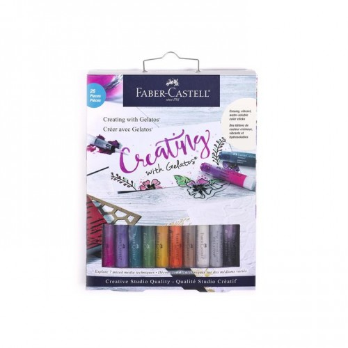 Faber Castell - Creating with Gelatos - 26 Pieces