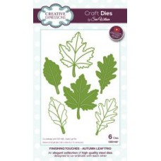 Creative Expressions - Finishing Touches - Autumn Leaf Trio Dies