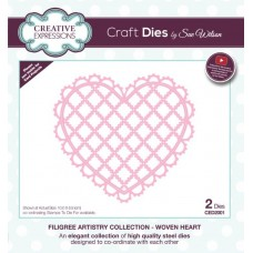 Creative Expressions Filigree Artistry Collection - Woven Heart