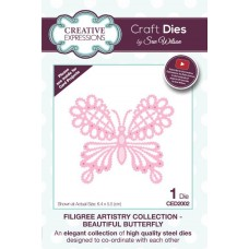 Creative Expressions Sue Wilson Filigree Artistry collection - Beautiful Butterfly