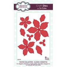 Creative Expressions - Festive Collection - Classic Poinsettia Die