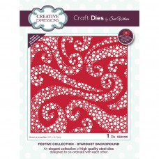 Creative Expressions - Festive Collection - Stardust Background Die