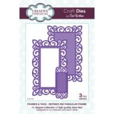 Creative Expressions - Sue Wilson - Frames and Tags- Refined Rectangular Frame Die