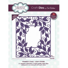 Creative Expressions - Sue Wilson - Frames & Tags - Leafy Frame