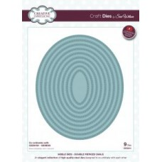 Creative Expressions Craft Dies by Sue Wilson Noble Collection - Double Pierced Ovals
