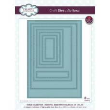 Creative Expressions Craft Dies by Sue Wilson Noble Collection - Essential Sized Rectangles ( A5, 5 x 7, A6, A7 )