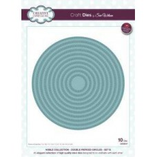 Creative Expressions Noble Collection - Double Pierced Circles - Set B