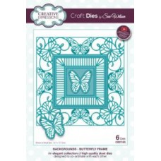 Creative Expressions - Sue Wilson - Backgrounds - Butterfly Frame Die