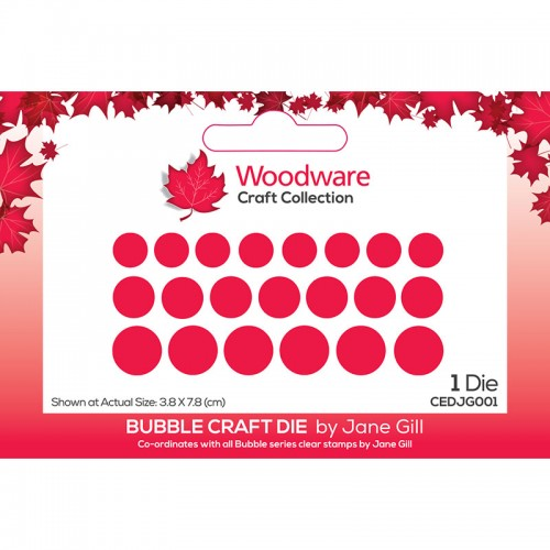 Woodware Craft Collection Bubble Craft Die