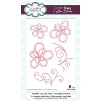 Creative Expressions - Lisa Horton - Floral Collection - Layered Loops
