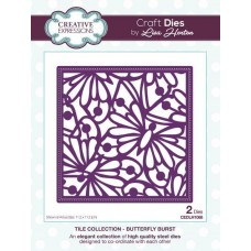 Creative Expressions Tile Collection - Butterfly Burst