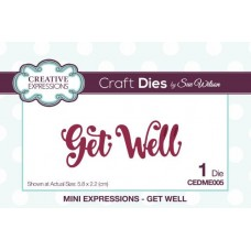 Creative Expressions - Mini Expressions - Get Well