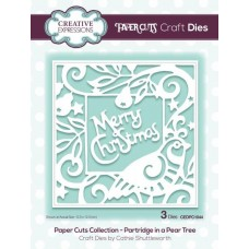 Creative Expressions - Paper Cuts Craft Dies - Paper Cuts Collection - Partridge In a Pear Tree