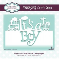 Creative Expressions Paper Cuts It's a Boy Edger
