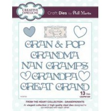 Creative Expressions From The Heart Collection - Grandparents Dies
