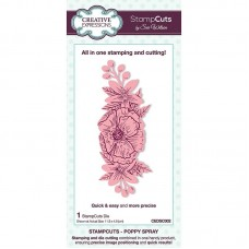 Creative Expressions - Stampcuts - Poppy Spray