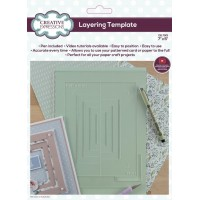 """Creative Expressions Layering Template 7"""" x 5"""""""