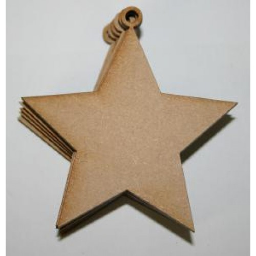 Creative Expressions - Small Star Decoration Pack