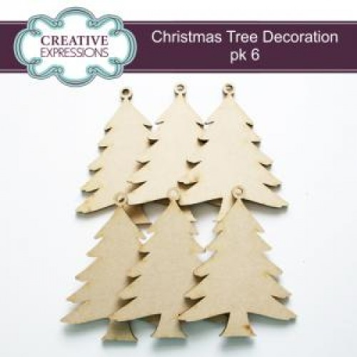 Creative Expressions - Christmas Tree Decoration Pack