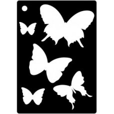 Creative Expressions Mini Stencil Butterfly Splash