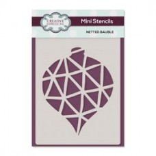 Creative Expressions Mini Stencil Netted Bauble