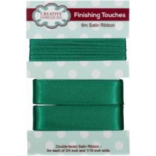 "Satin Ribbon Forest 3/4"" x 1/16"""