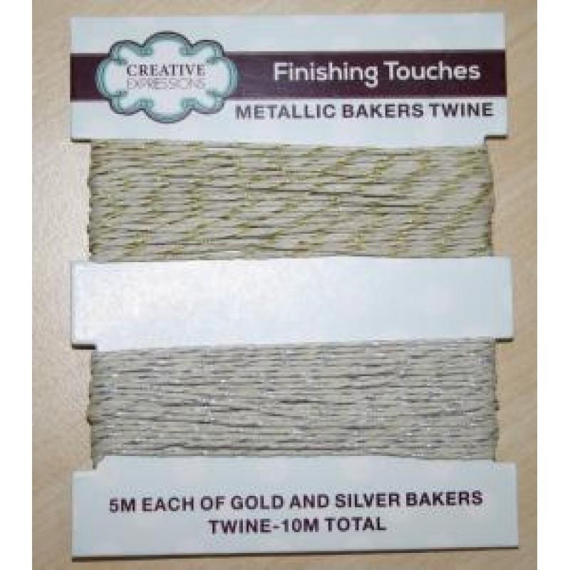 Creative Expressions - Metallic Bakers Twine