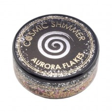 Cosmic Shimmer Aurora Flakes - Golden Rose