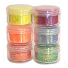 Cosmic Shimmer Bright and Sparkling Glitter Set - Neon Glow
