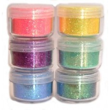 Cosmic Shimmer Bright and Sparkling Glitter Set - Fairground Candy