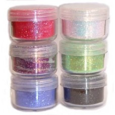 Cosmic Shimmer Bright and Sparkling Glitter Set - Galaxy Mix