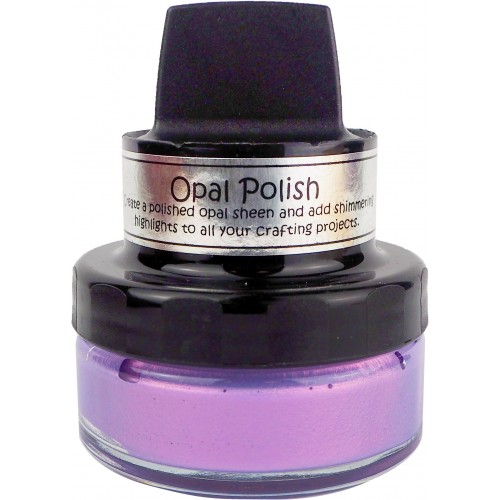 Cosmic Shimmer Opal Polish Pink Thistle