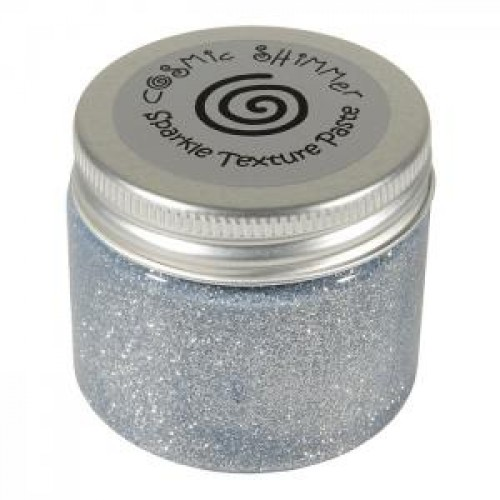 Cosmic Shimmer - Sparkle Texture Paste - Silver Moon