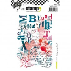 Carabelle Studio - Art Stamp -  Collage Typographique