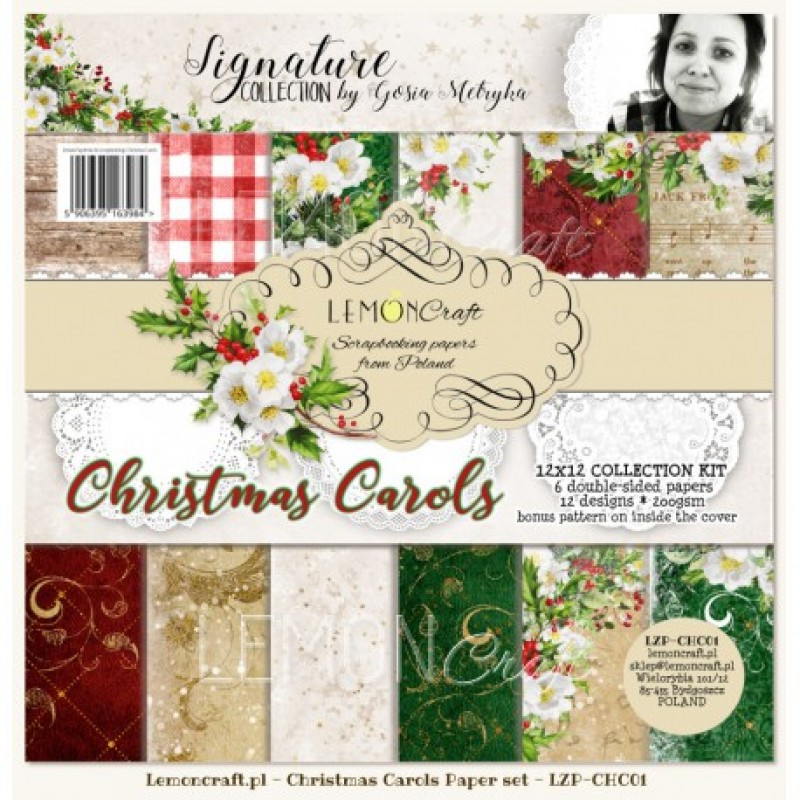 Lemoncraft - Christmas Carols - Double Sided Papers