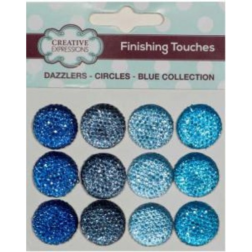 Dazzlers - Circles - Blue Collection