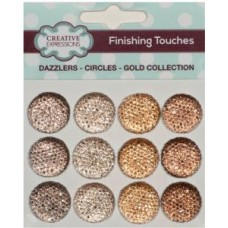 Dazzlers - Circles - Gold Collection