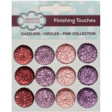 Dazzlers - Circles - Pink Collection