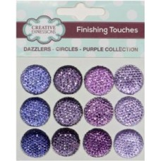 Dazzlers - Circles - Puprle Collection