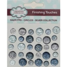 Dazzlers - Circles - Silver Collection