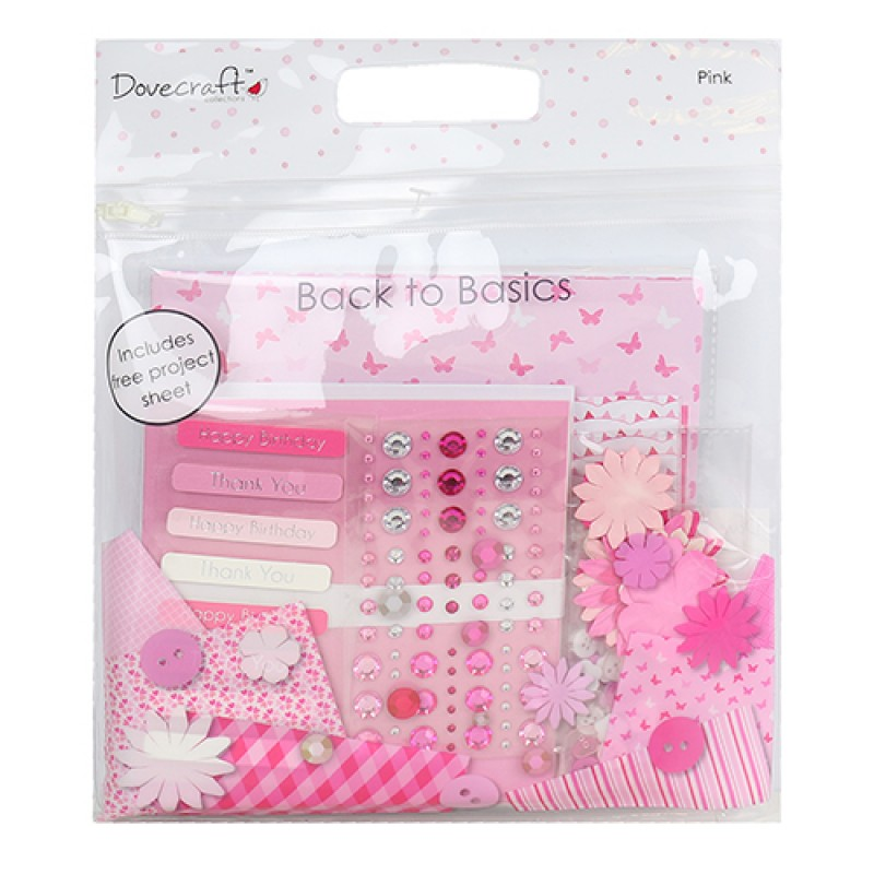 Dovecraft - Card Kit Goody Bag Pink