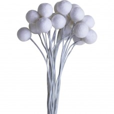 Dress My Craft Foam Flower Buds 10mm round