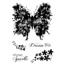 Woodware Clear Magic Butterfly Sparkle