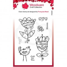 Woodware Clear Magic Blooming Stamps
