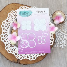 Lady E Design Flower 8 Die