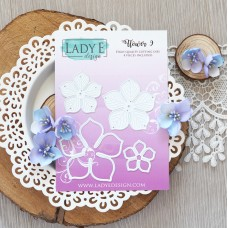 Lady E Design Flower 9 Die