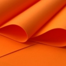 Foamiran - Flower Making Foam Sheets - Orange 0.6mm