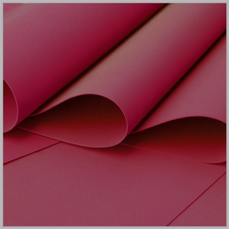 Foamiran - Flower Making Foam Sheets - Dark Red