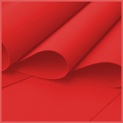 Foamiran - Flower Making Foam Sheets - Red
